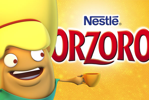 Nestlé Orzoro – Website